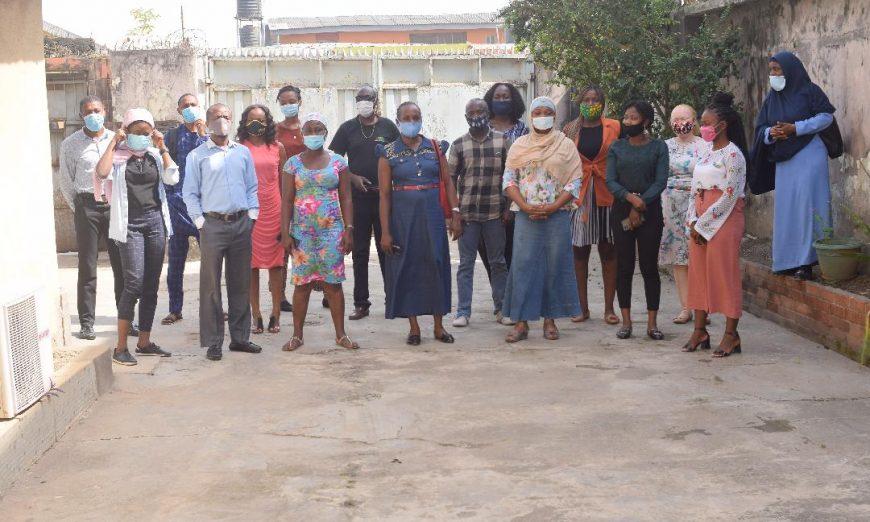 participants at JAAIDS training