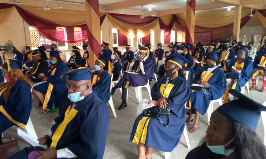 Students at the matriculation